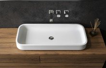 Small White Vessel Sink picture № 17