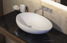 Small White Vessel Sink picture № 1