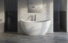 Oval Freestanding Bathtubs picture № 43