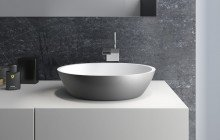 Small Oval Vessel Sink picture № 11