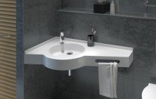 Chantilly Stone Bathroom Sink 01