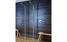 Gamma 511 freestanding outdoor shower 01
