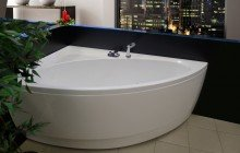 Idea R Wht Corner Acrylic Bathtub 1200 1800