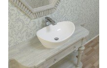Small White Vessel Sink picture № 6