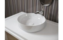 Small White Vessel Sink picture № 9