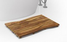 Onde waterproof teak wood floor mat 03 (web)