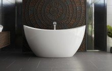 Oval Freestanding Bathtubs picture № 44