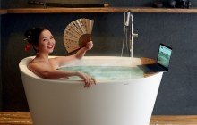 Aquatica true ofuro tranquility freestanding solid surface bathtub web 01