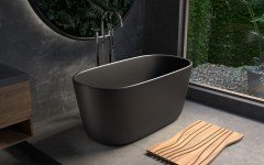 Aquatica Lullaby Blck Mini Freestanding Solid Surface Bathtub 05 (web)