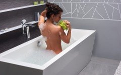 Purescape 026 freestanding acrylic bathtub by Aquatica 02 (web)