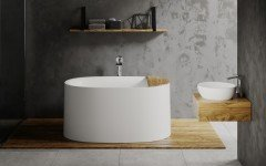 Sophia freestanding stone bathtub by Aquatica 01 (web)