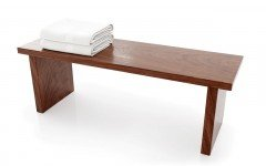 Universal Waterproof Bathroom Bench American Walnut0