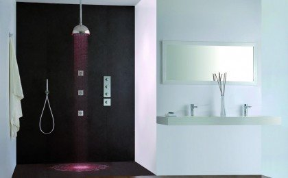 Shower heads with LED Lights R7LED028CP P9 1