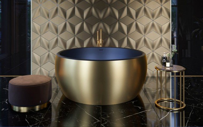 Aquatica Aura Gold Black Round Freestanding Solid Surface Bathtub 06 (web)
