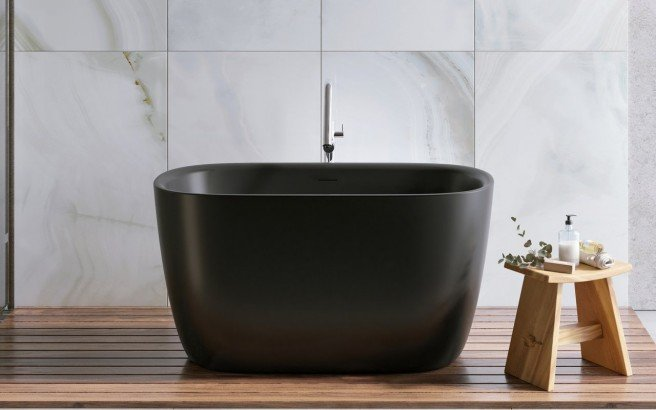 Aquatica Lullaby 2 Blck Small Freestanding Solid Surface Bathtub 01 1 (web)
