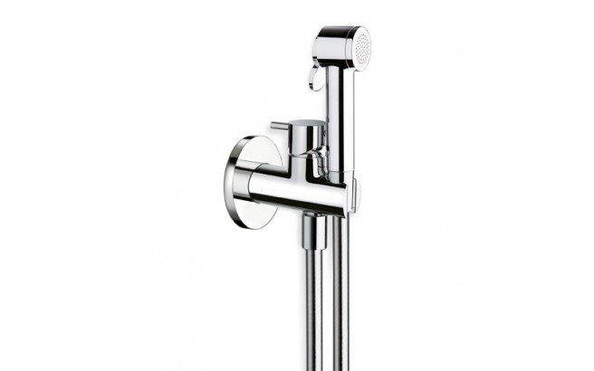 ᐈluxury Aquatica Gamma 676 Hand Held Wc Bidet Sprayer With Holder And Hose In Chrome Best Prices Aquatica