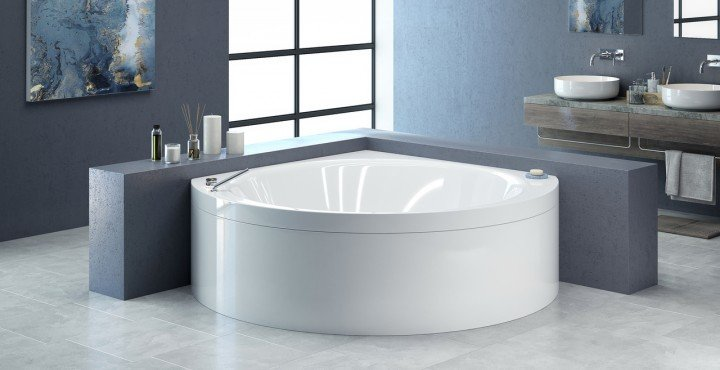 Optimise Space With Our Corner Tubs Made From Award