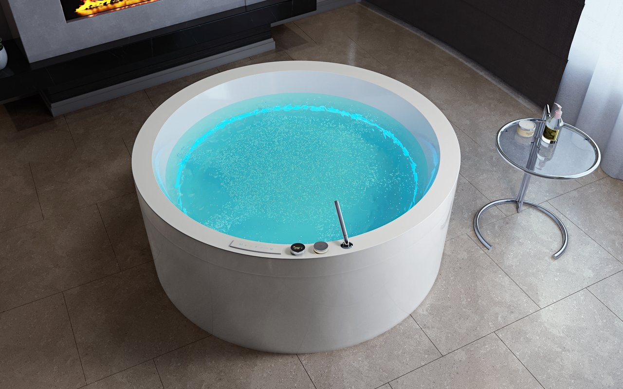 Aquatica Dream Rondo HydroRelax Jetted OutdoorIndoor Bathtub US version 240V 50 60Hz 06 (web)