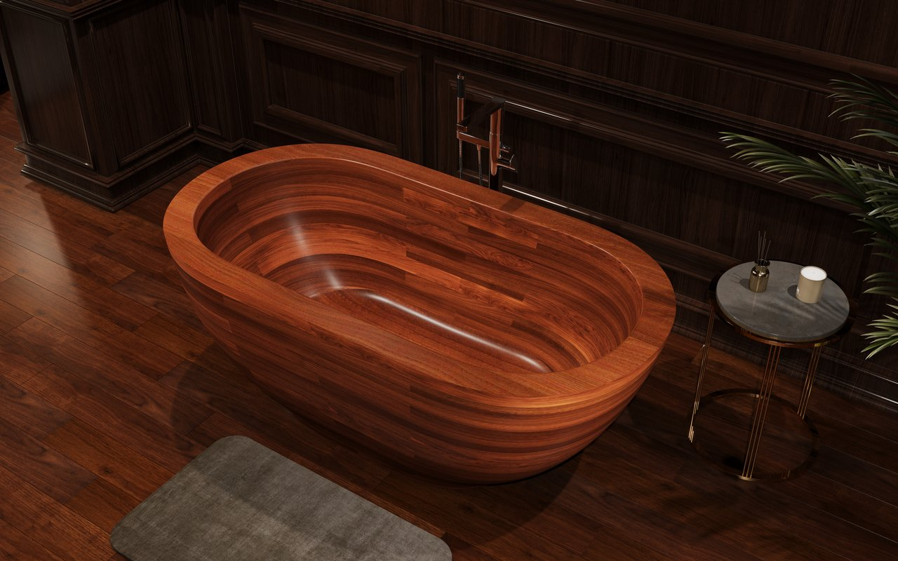 Aquatica karolina wooden freestanding japanese soaking bathtub 03 (web)