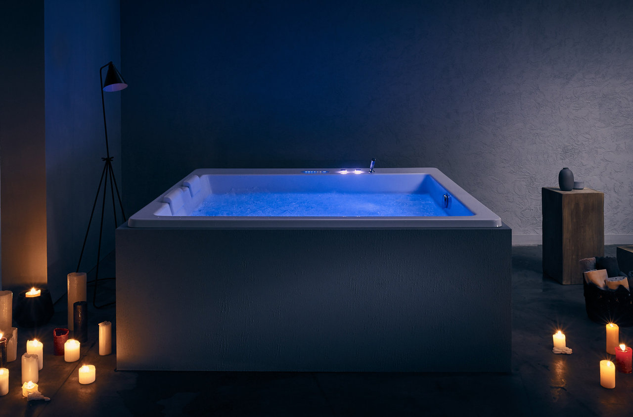 Aquatica Lacus-Wht Drop-In HydroRelax Pro Jetted Bathtub (220/240V ...