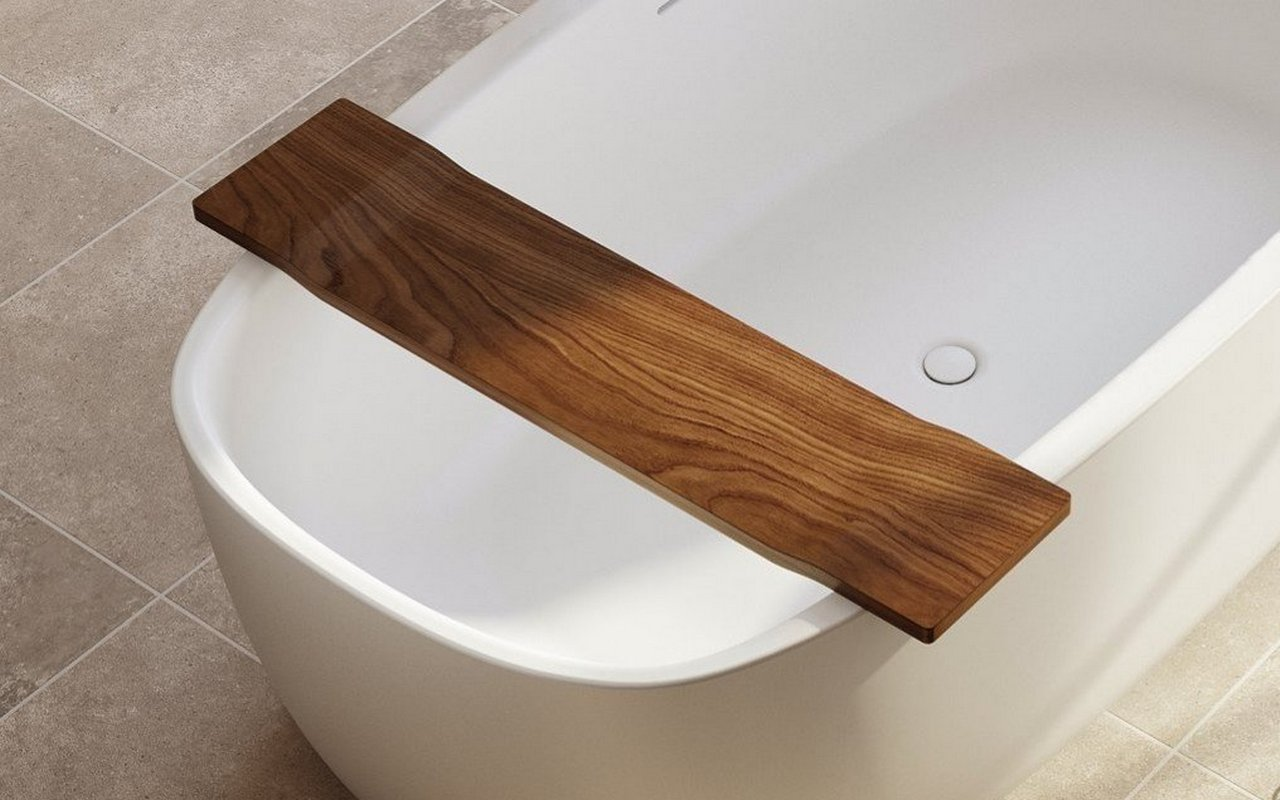 Aquatica Coletta™ White Freestanding Solid Surface Bathtub
